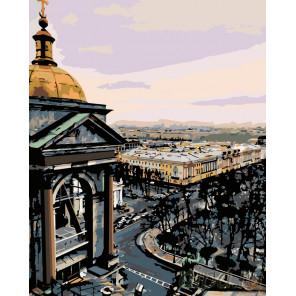 Вид на Петербург Раскраска по номерам на холсте Живопись по номерам Z3118