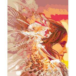 Принцесса дня Раскраска по номерам на холсте Живопись по номерам ARTH-AH198