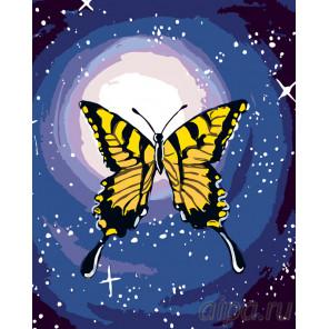 Схема Махаон в свете луны Раскраска по номерам на холсте Живопись по номерам RA134