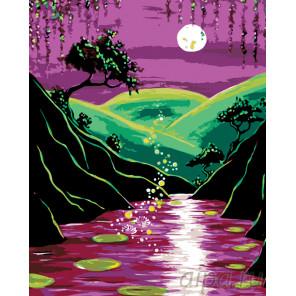 Волшебная ночь Раскраска по номерам на холсте Живопись по номерам RA204