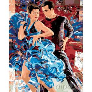 Испанские танцы Раскраска по номерам на холсте Живопись по номерам RO36