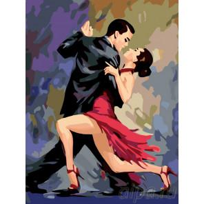 Схема В ритме танго Раскраска по номерам на холсте Живопись по номерам RO40