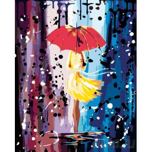 Холодный дождь Раскраска по номерам на холсте Живопись по номерам RO55