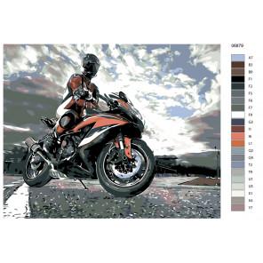 Раскладка Победитель Раскраска по номерам на холсте Живопись по номерам KTMK-06879