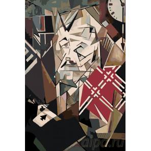 Абстрактный человек Раскраска картина по номерам на холсте Z-Z41133