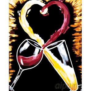 За любовь Раскраска картина по номерам на холсте RA225