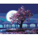 Дерево мудрости Раскраска картина по номерам на холсте KTMK-07909