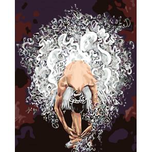 Воздушная балерина Раскраска картина по номерам на холсте KTMK-948842