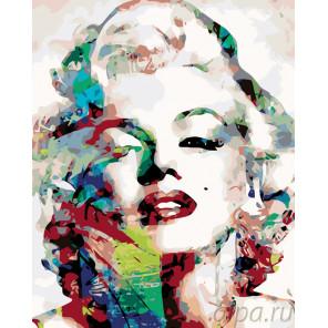 Девушка-видение Раскраска картина по номерам на холсте KTMK-25872