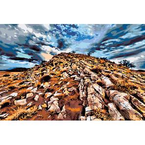 Пустыня Раскраска картина по номерам на холсте GU-ZGUS1011001192