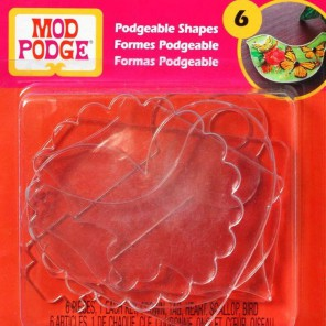 Художественные Акриловые 3D Формы для украшений Mod Podge Plaid