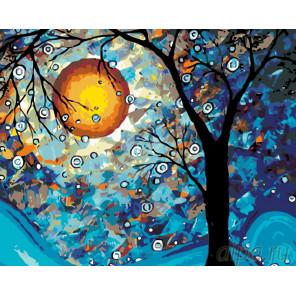 Волшебство в свете луны Раскраска картина по номерам на холсте KTMK-22065