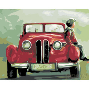 Раскладка Папина гордость Раскраска картина по номерам на холсте KTMK-49606
