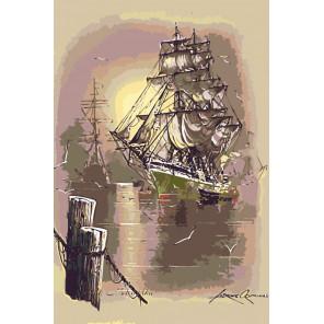 Флот Раскраска картина по номерам на холсте Z4697-1