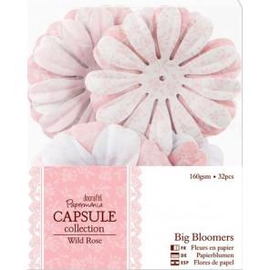 Цветы Wild Rose Украшение для скрапбукинга, кардмейкинга Docrafts