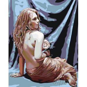 Муза художника Раскраска по номерам на холсте Живопись по номерам KTMK-73150
