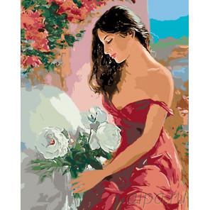 Раскладка Южная красавица Раскраска по номерам на холсте Живопись по номерам RO115
