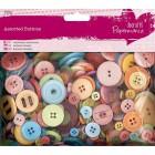 Разноцветный микс Пуговицы Docrafts