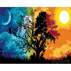 Небесные светила Раскраска по номерам на холсте Живопись по номерам KTMK-54413
