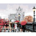 Прогулка по Лондону Раскраска картина по номерам на холсте