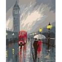 Непогода в Лондоне Раскраска по номерам на холсте Живопись по номерам RO83