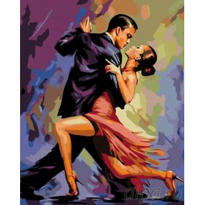 Танец страсти Раскраска по номерам на холсте Живопись по номерам RO68