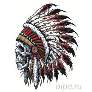 раскладка Дух предков Раскраска картина по номерам на холсте