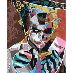 раскладка Джокер Раскраска картина по номерам на холсте