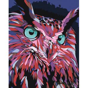 Ночная охота Раскраска картина по номерам на холсте PA150