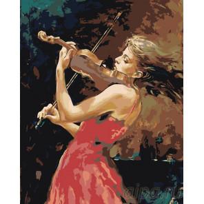 Динамика музыки Раскраска картина по номерам на холсте RA238