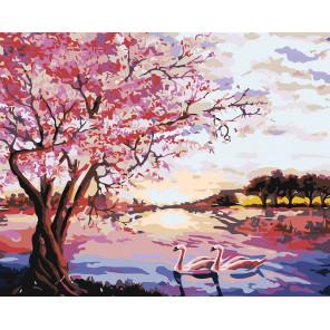 раскладка Цвета сезонов Раскраска картина по номерам на холсте