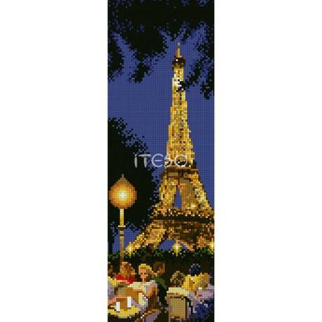 Вечерний Париж Алмазная вышивка (мозаика) Iteso