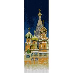 Храм Василия Блаженного Алмазная вышивка (мозаика) Iteso