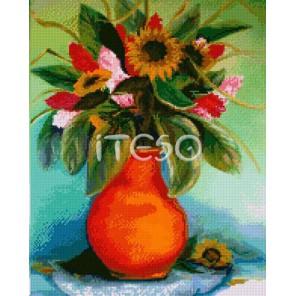 Яркие подсолнухи Алмазная вышивка (мозаика) Iteso
