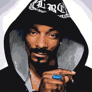 Snoop Dogg Раскраска по номерам на холсте Живопись по номерам Z-AB82