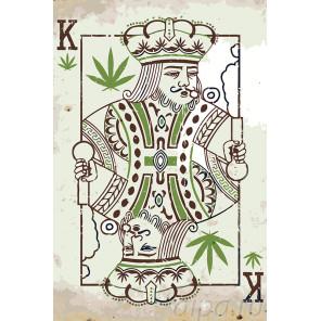 Карточный король Раскраска по номерам на холсте Живопись по номерам Z-AB86