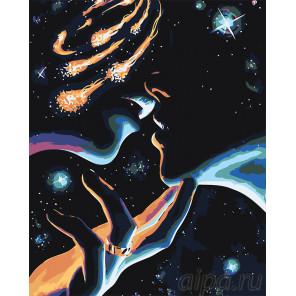 Макет Вселенная влюбленных Раскраска картина по номерам на холсте FT09