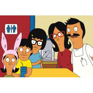 Семейное фото Раскраска картина по номерам на холсте Z-AB124