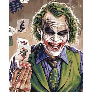 Раскладка Джокер Раскраска картина по номерам на холсте PA157