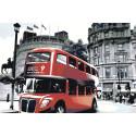 Лондонские достопримечательности Раскраска по номерам на холсте Живопись по номерам GP12