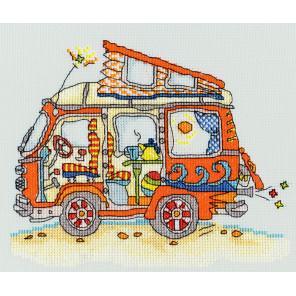 Автобус Фольксваген Набор для вышивания Bothy Threads XSD2