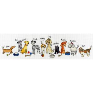Собаки Набор для вышивания Bothy Threads XRO2
