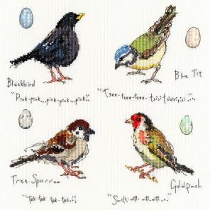 Птицы 2 Набор для вышивания Bothy Threads XMF2