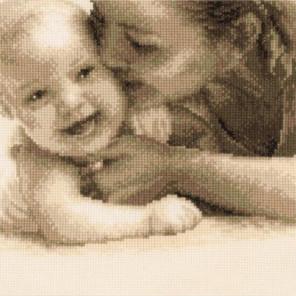 Мать и дитя Набор для вышивания VERVACO PN-0143732