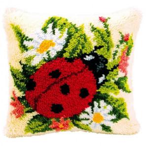 Божья коровка Набор для вышивания подушки VERVACO PN-0014137