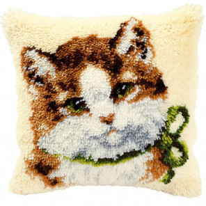 Кошечка Набор для вышивания подушки VERVACO PN-0014138