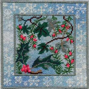 Winter Evergreens Набор для вышивания Derwentwater Designs IM304
