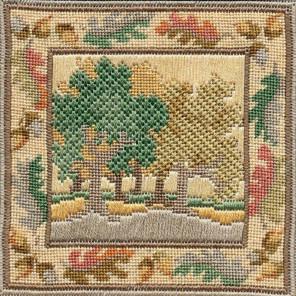 Autumn Oaks Набор для вышивания Derwentwater Designs IM303
