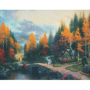 Долина мира Набор для вышивания CANDAMAR DESIGNS 51032