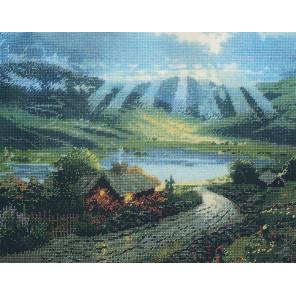 Домик в Ирландии Набор для вышивания CANDAMAR DESIGNS 50895